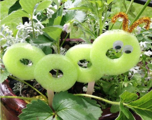 Pool Noodle Crafts for Kids: Caterpillar