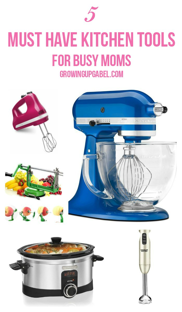 5 Must Have Kitchen Tools