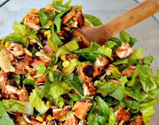 Chopped BBQ Chicken Salad Recipe