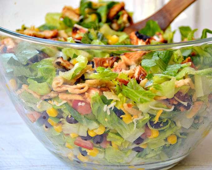 Colorful Chicken Salad Recipe