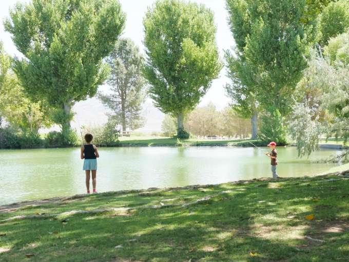 Kids Fishing Trip