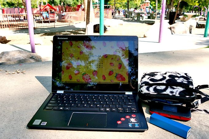 Lenovo at the Park