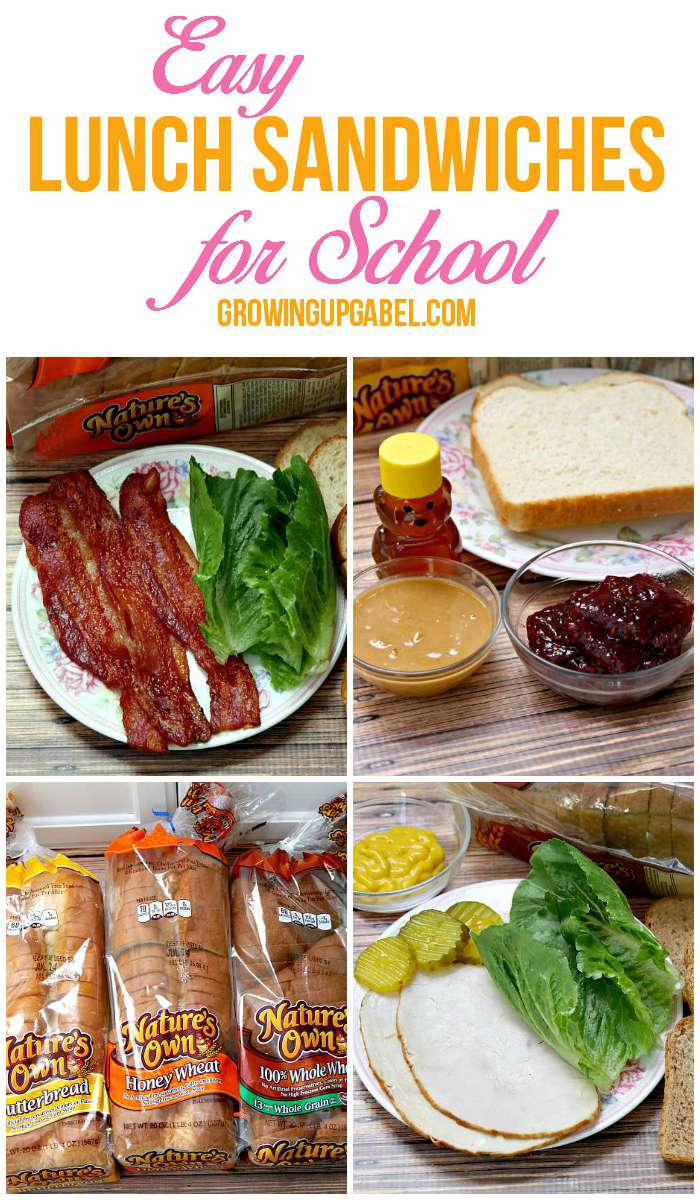 Check out these lunch sandwich ideas for school! Put a twist on classic sandwiches perfect for work, too. These sandwich ideas work for adults and for kids alike.
