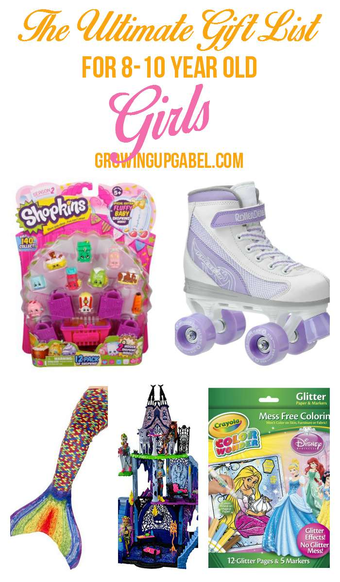 The Ultimate List of Top Girl Gifts for 8-10 Year Olds