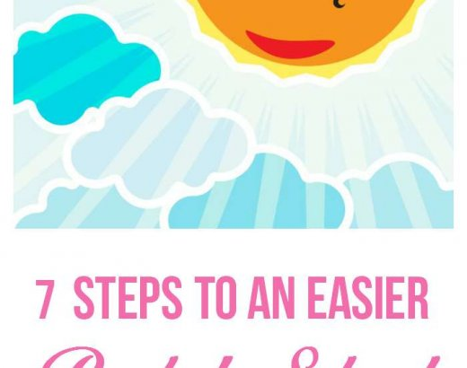 7 Steps to an Easier Morning Routine for School