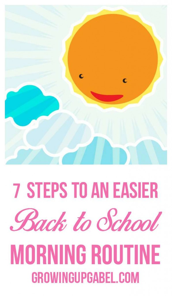 A morning routine for school will help make the transition back to school easier. Check out seven ideas for making school mornings a breeze.