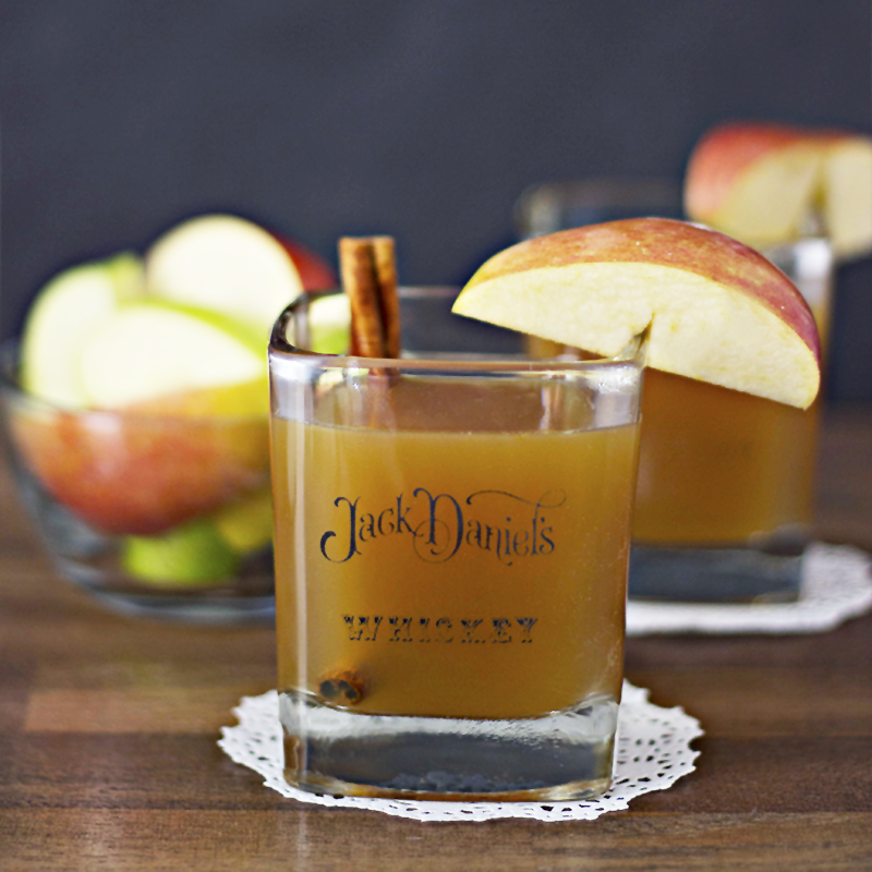 Apple Cider Bourbon Whiskey Cocktail sq