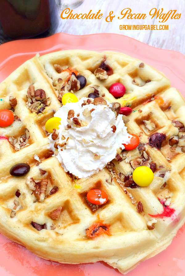 Fall Pecan Waffle Recipe