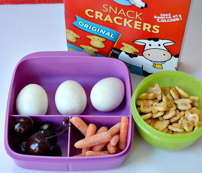 Hard Boiled Egg Lunch Ideas