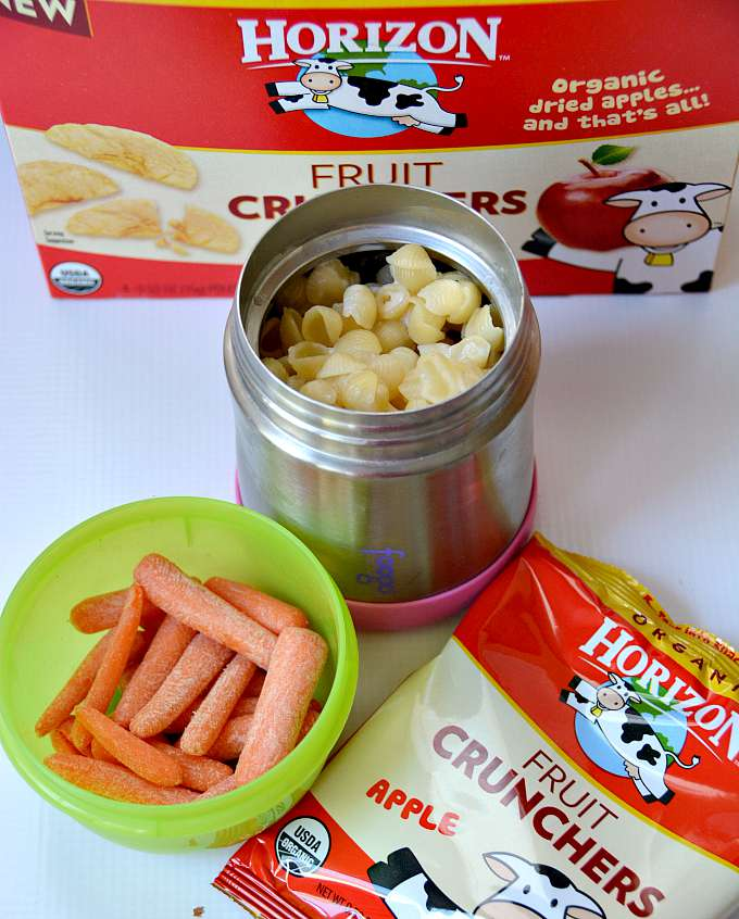Macaroni and Cheese School Lunch Idea