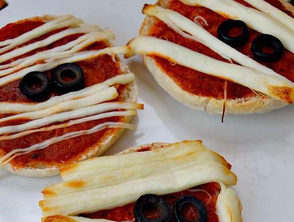 Mummy Halloween Pizza Recipes