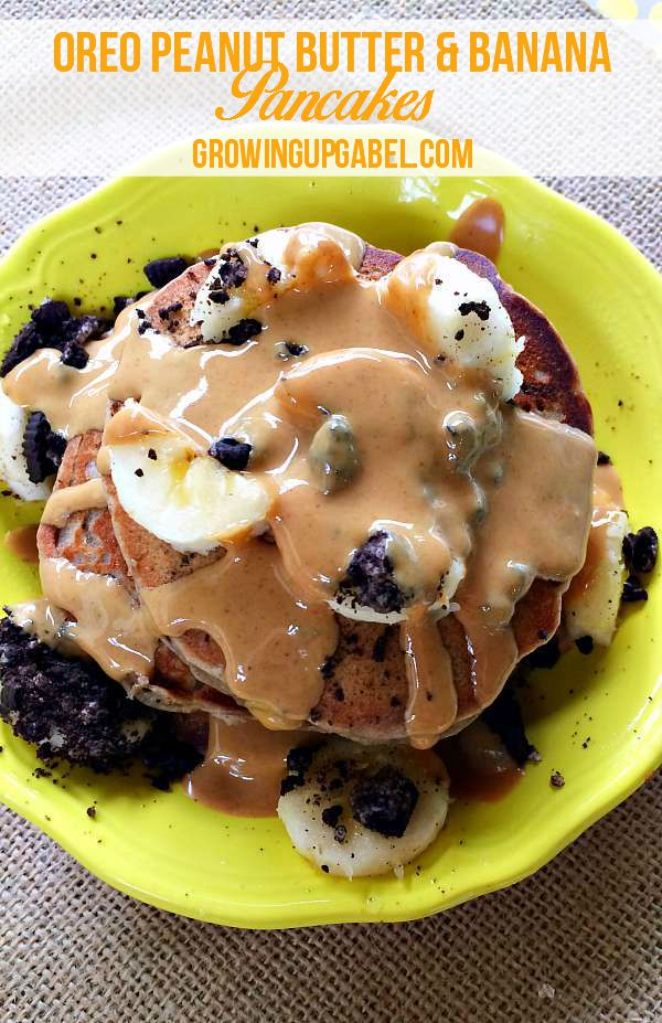 Looking for a fun breakfast recipe? Try this fun twist on Elvis's favorite flavor combination of bananas, peanut butter and chocolate! Use a pancake mix to make a fun pancake recipe that's ready in just minutes.