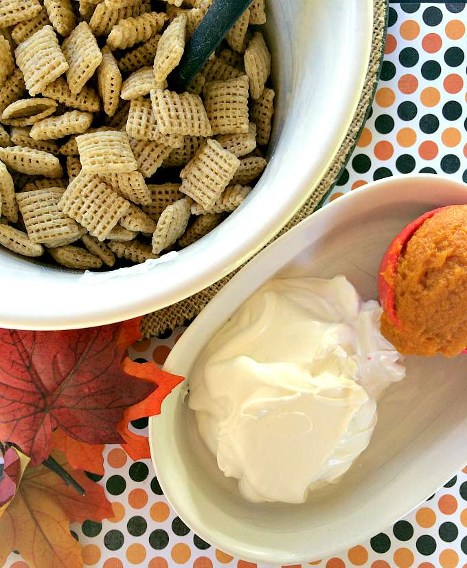 Pumpkin Chex Muddy Buddy Recipe