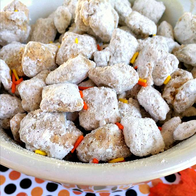 Pumpkin Pie Chex Puppy Chow Recipe