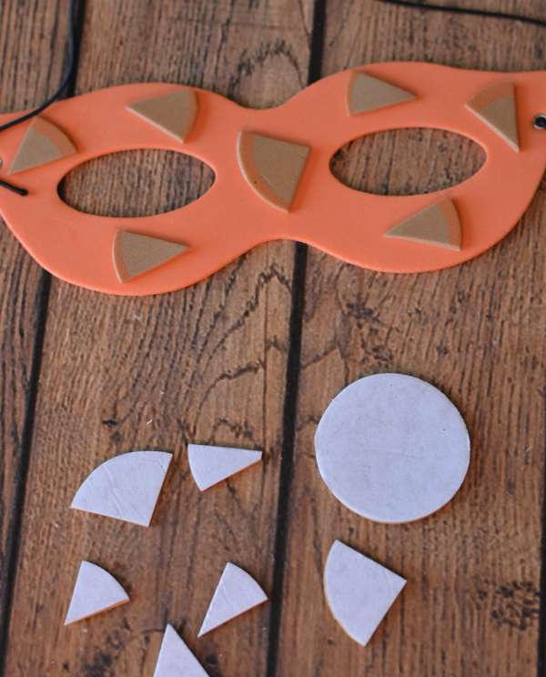 Foam Halloween Mask Ideas
