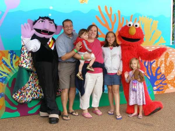 Sea World Family photo