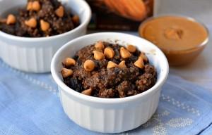 Chocolate Peanut Butter Baked Oatmeal Recipe