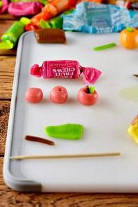 Sugar Cone Cornucopia Treats to Make for Thanksgiving