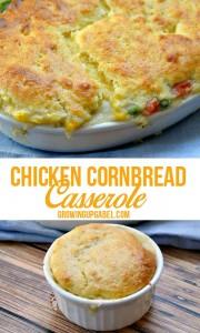 Cornbread and Chicken Casserole