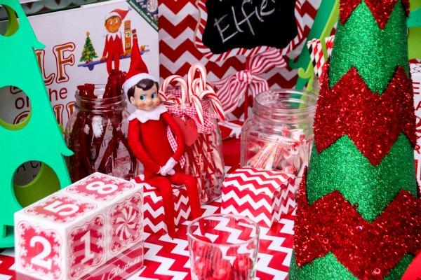 Elf on the Shelf Idea arrival