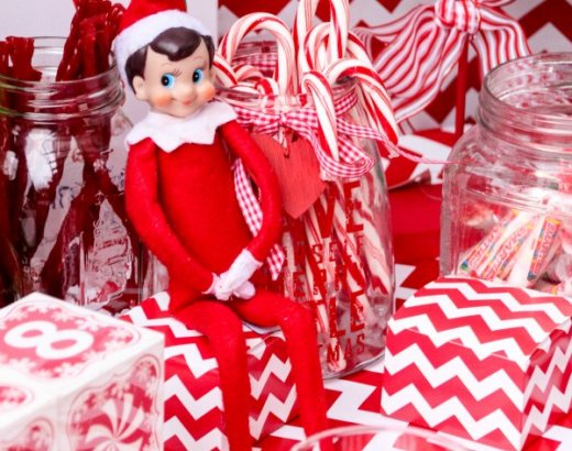 Elf on the Shelf Welcome Party