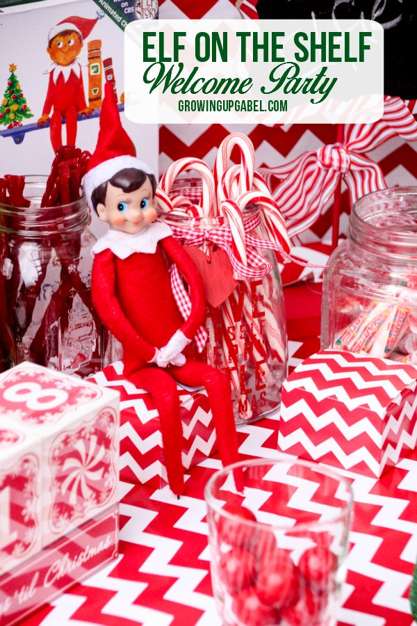 Welcome your Elf on the Shelf - new or old- with this Elf on the Shelf welcome party! Use new and old decorations to create a magical event for the entire family!