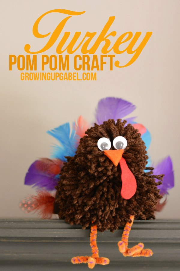 Pom Pom Turkey Craft