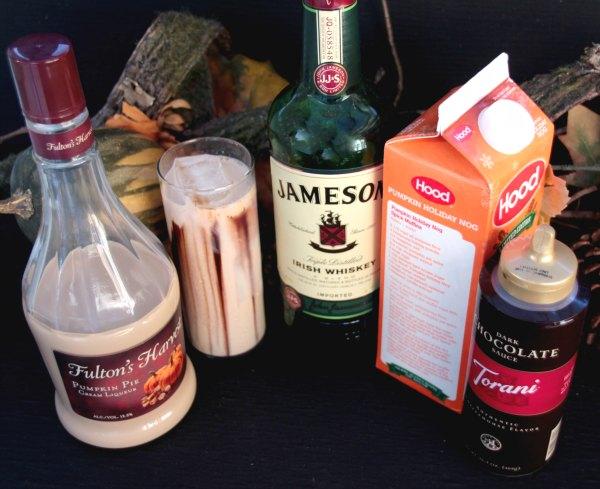 Pumpkin cocktail ingredients