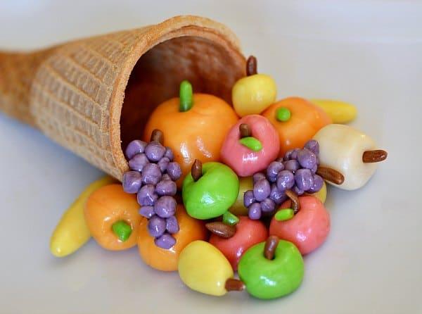 Sugar Cone Candy Cornucopia