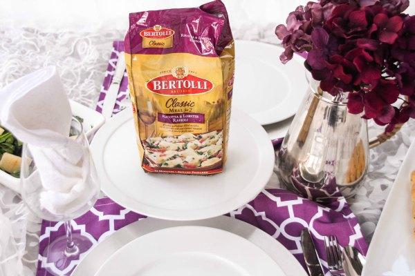 Bertolli® Lobster Ravioli- Date Night in