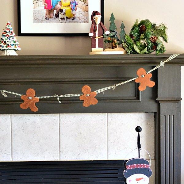 Cinnamon Dough Christmas Garland