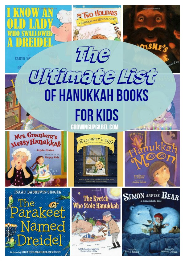 Help your kids learn about the history and traditions of Hanukkah with one of these Hanukkah books for kids! From stories to activities, this list has everything you need to celebrate the Festival of Lights!