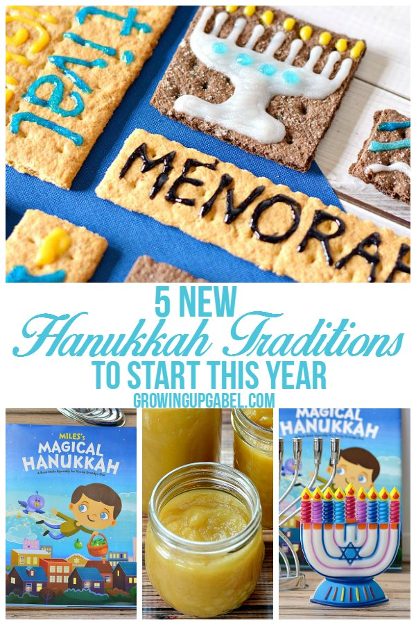 Start a new Hanukkah tradition this year with your family! Try new recipes, new Hanukkah stories, and new Menorahs for a fun, meaningful celebration.