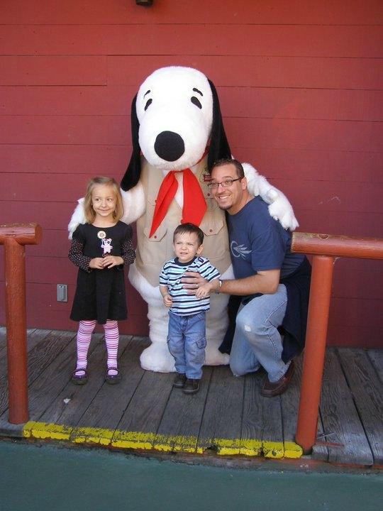 Knotts Berry Farm Snoopy