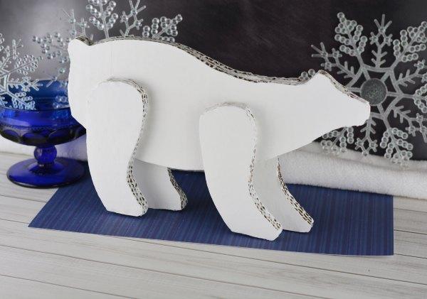 Winter Cardboard Craft