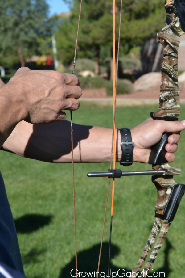 youth bow and arrows