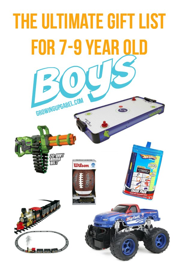 Looking for a gift for the 7-9 year old boy in your life?Look no further! Find something for every budget and every hobby in this awesome list of best gifts for boys!