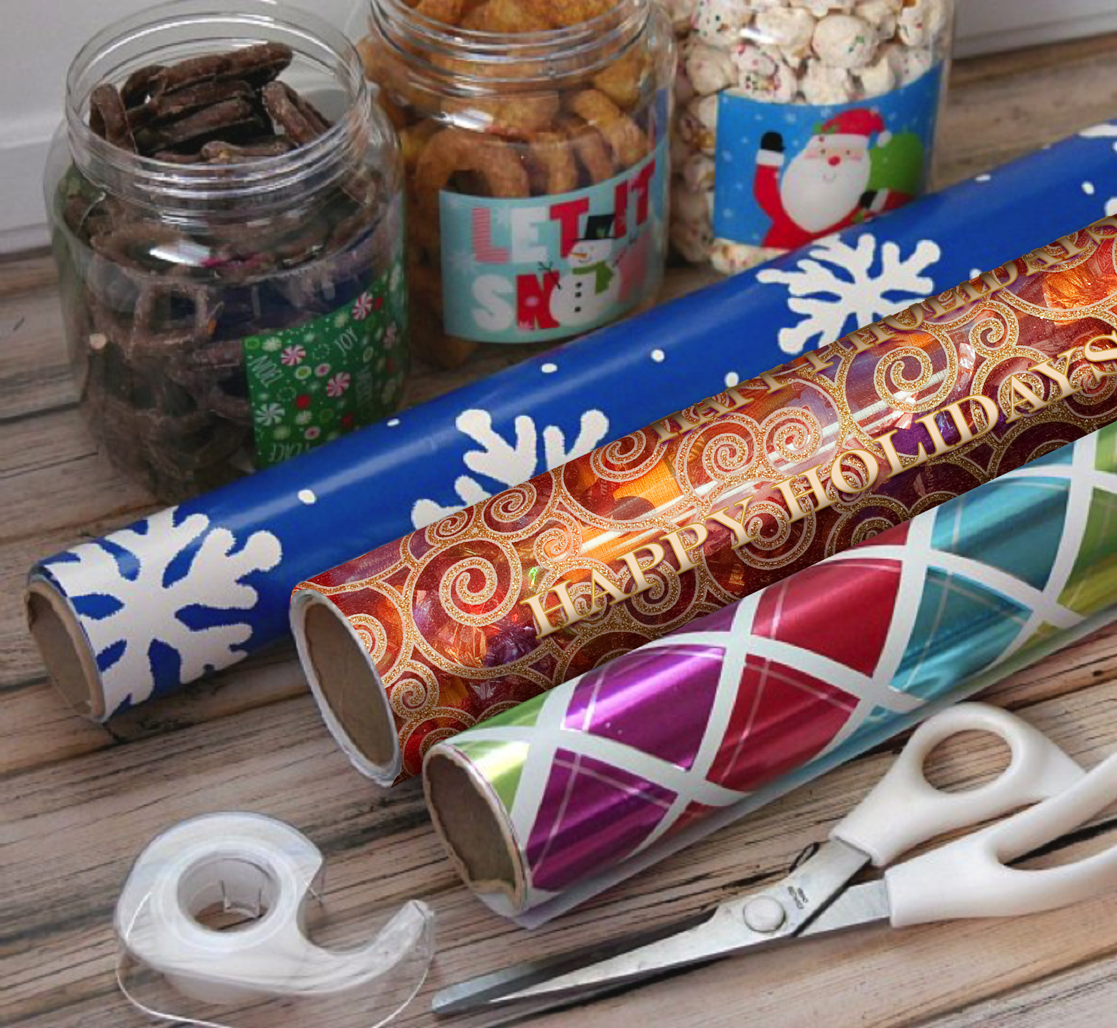 How to Wrap Holiday gifts 2
