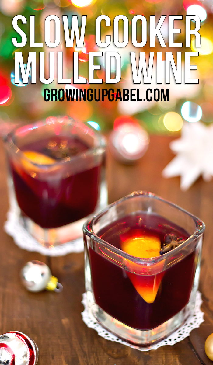Let your slow cooker do all the work with this easy mulled wine recipe! Two ingredients and a few spices are simmered to keep you and your guests warm all night!