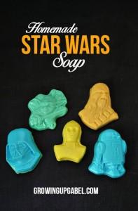 Homemade Star Wars Soap
