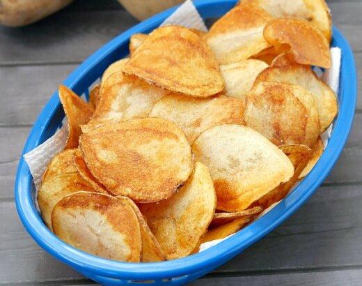 Homemade Potato Chip Recipe