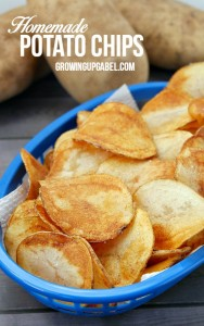 Homemade Potato Chip Recipe with Better Bakery Artisan Melts