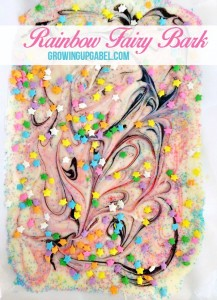 Rainbow Fairy White Chocolate Bark Recipe