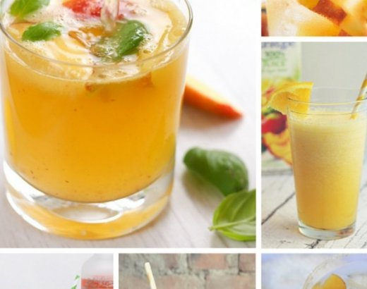 20 Refreshing Peach Cocktails and Smoothies