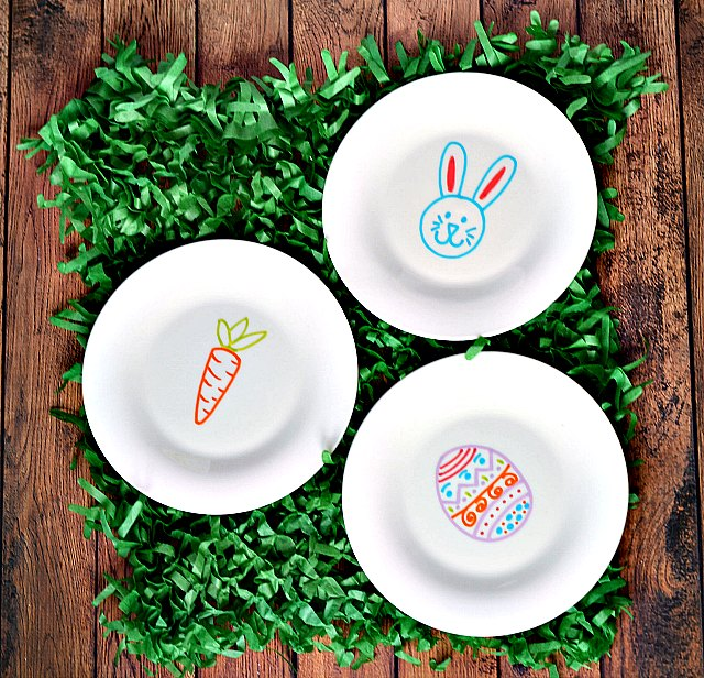 Cute Easter Plates
