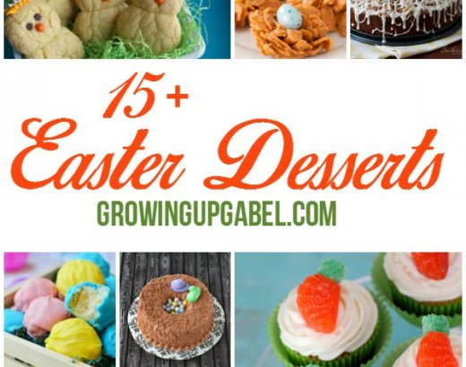 15+ Adorable Easter Desserts You Will Love