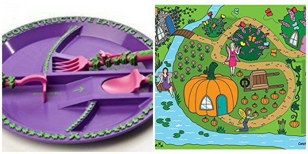 Fairy place setting