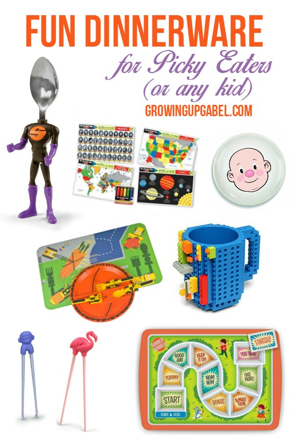 Check out the coolest most fun dinnerware to get your kids  sc 1 st  Growing Up Gabel & Fun Dinnerware to Help Picky Eaters Eat