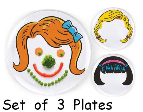 Girl face plates