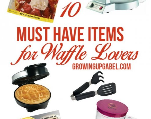10 Must Have Items for Waffle Lovers